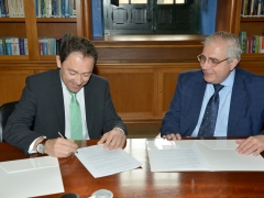 San Telmo Business School signs a collaboration agreement with QuirónSalud