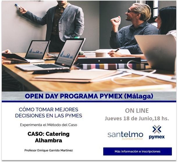 open day Pymex Mal Junio